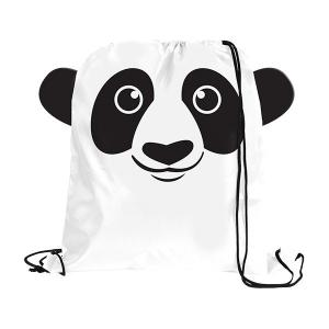 Panda Paws N Claws Drawstring Backpack