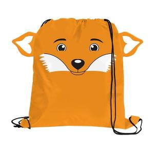Fox Paws N Claws Drawstring Backpack