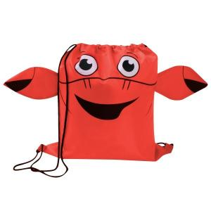 Crab Paws N Claws Drawstring Backpack