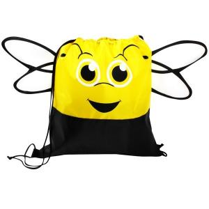 Bumble Bee Paws N Claws Drawstring Backpack