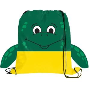 Sea Turtle Paws N Claws Drawstring Backpack