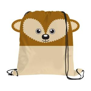 Hedgehog Paws N Claws Drawstring Backpack