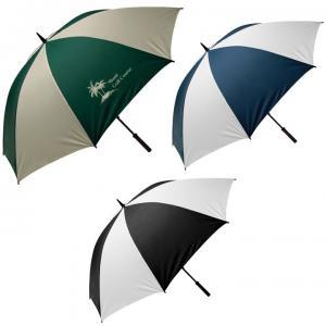 "62""Sportsmaster Golf Umbrella w/Wooden Handle"