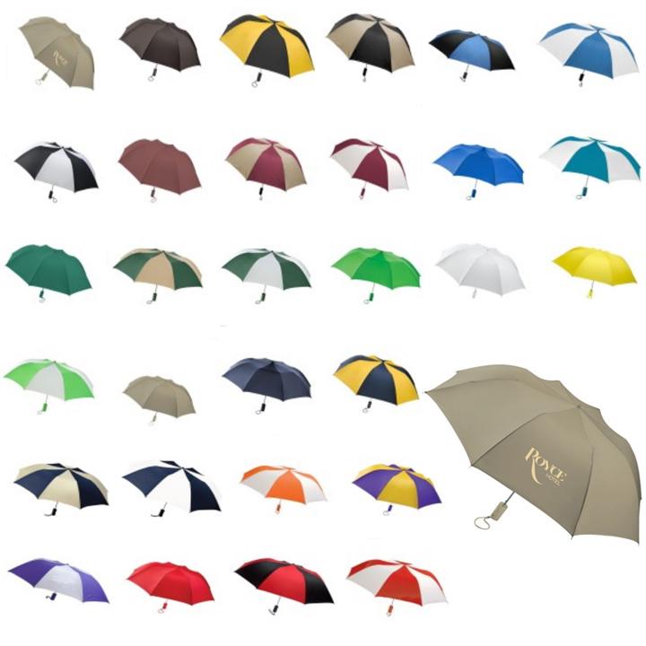 "Elegant 44"" Barrister Auto Open Folding Umbrella"