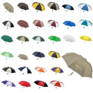 "Elegant 44"" Barrister Auto Open Folding Umbrella"