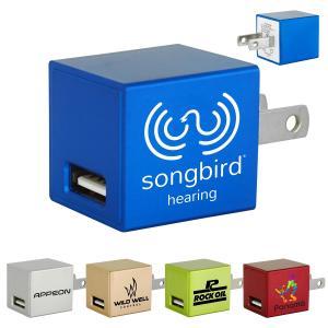 Lightweight Block USB Wall Charger