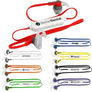 Silicone Sporty Bluetooth Earbuds
