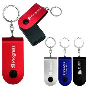 Swivel Power Bank Keychain