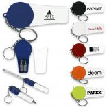 Retractable 3 ft Tool Combo Keychain