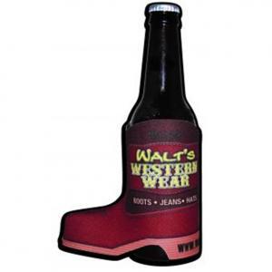 Cowboy Boot Shaped Sublimated Koozie
