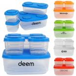 4 Piece Puzzle Containers