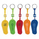 Floating Flip Flop Key Chain