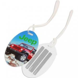 Oval Shaped Luggage Tag