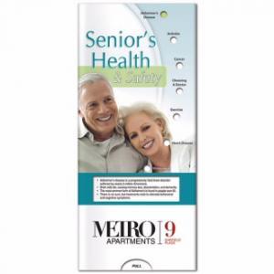 Senior health and Safety Pocket Slide Chart