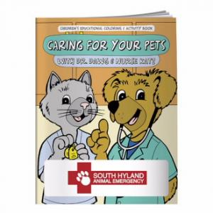 Promotional Coloring Book: Caring For Your Pets