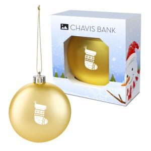 Round Ornament with Custom Window Box