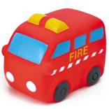 Rubber Fire Engine Toy