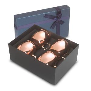 18 oz Stainless Steel Dutch Mule Gift Set of 4