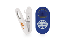Buzz Multi-Use Magnetic Bottle Opener with Clip
