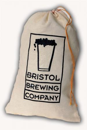 8 x 12 Natural Cotton Drawstring Bag