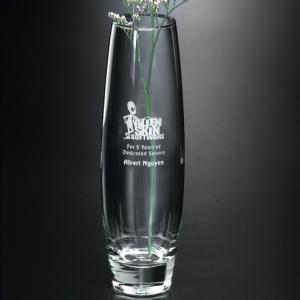 Bud Vase Crystal Award