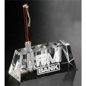 Pen Holder Crystal Award
