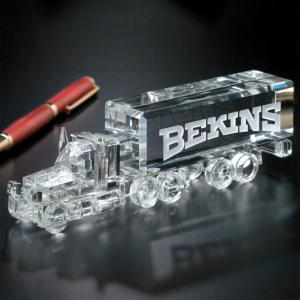Long Haul Truck Crystal Award