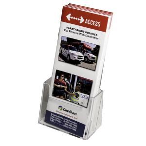 Acrylic Tri-Fold Brochure Display