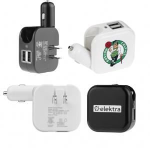 2-in-1 Wall/Car Charger