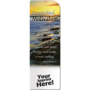 Inspiration and Motivation Bookmark