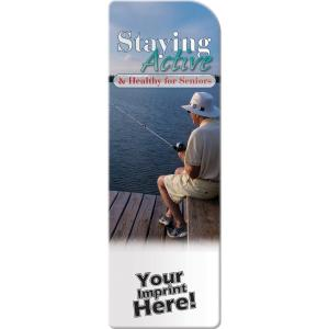 Staying Active and Healthy for Seniors Bookmark