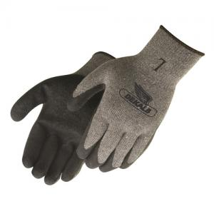 Gray Shell Latex Palm Coated Gloves