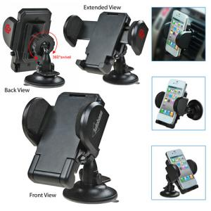 Pressure Mobile Device Holder with Suction Cup Stand