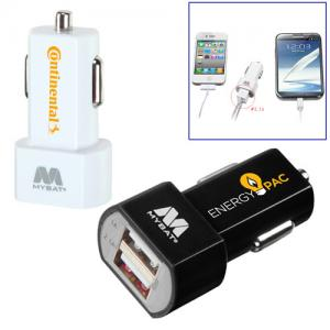 Dual USB Car Power Block
