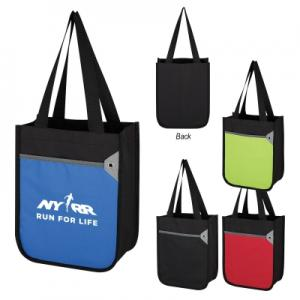 Large Front Pocket Mini Tote Bag