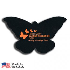 Recycled Tire Butterfly Coaster