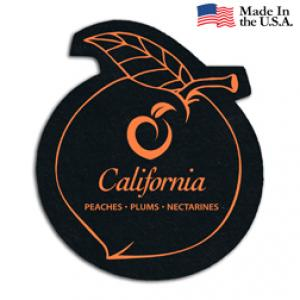 Recycled Tire Peach Coaster
