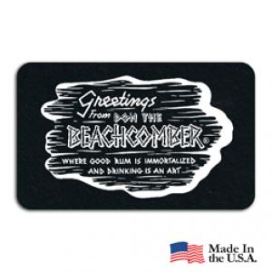 Recycled Tire Rectangle Coaster