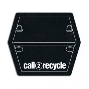 King Size Battery Recycled Tire Coaster