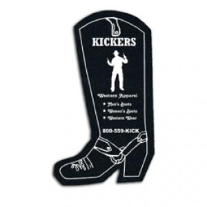 King Size Cowboy Boot Recycled Tire Coaster
