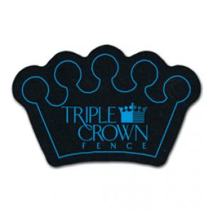 King Size Crown Recycled Tire Coaster