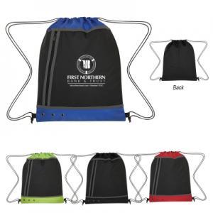 Three Tone Drawstring Sport Bag