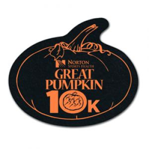 King Size Pumpkin Recycled Tire Coaster