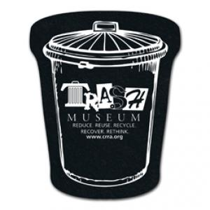 King Size Trash Can Recycled Tire Coaster