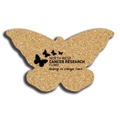 Cork Butterfly Coaster