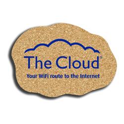 Cork Cloud Coaster