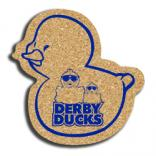 Cork Ducky Coaster