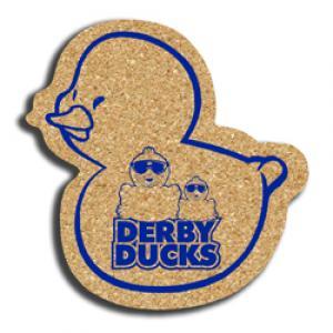 Cork Ducky Coaster