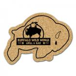 King Size Cork Buffalo Coaster
