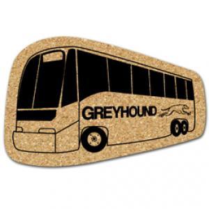 King Size Cork Bus Coaster
